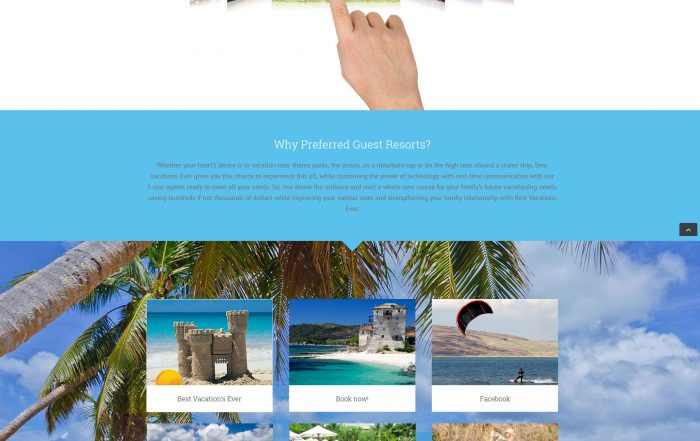 Best Vacations Ever Website Deign Ormond Beach