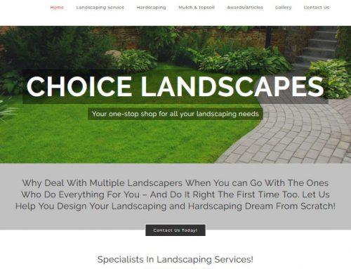 Choice-Landscapes