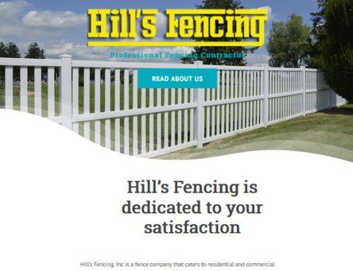 Hills Fencing